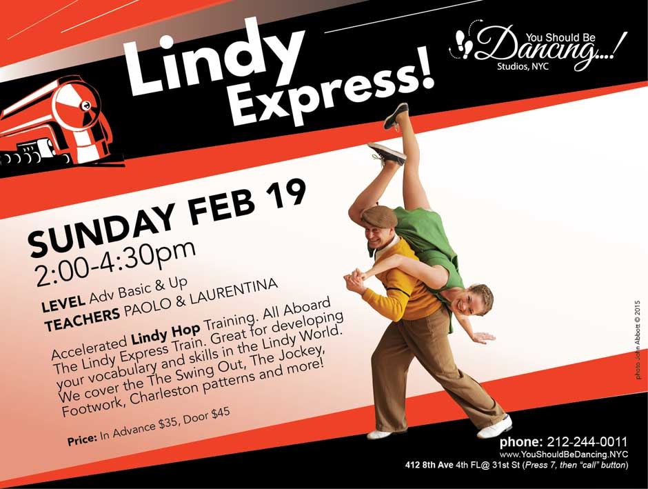 Lindy Express Paolo and Laurentina