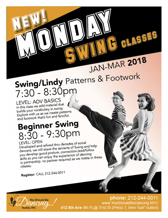 Swing Series Mondays YSBD Paolo