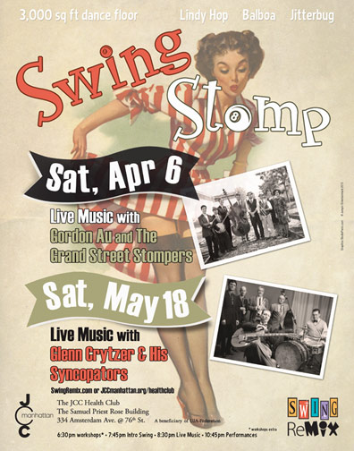 Swing Stomp Gordon Au Grand Street Stompers | Glenn Crytzer